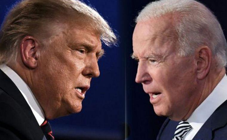 AUDIO: Trump y Biden expusieron sus diferencias en el último debate