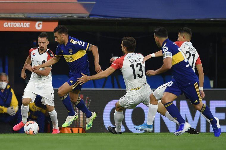 AUDIO: 3º Gol de Boca (Carlos Tevez)