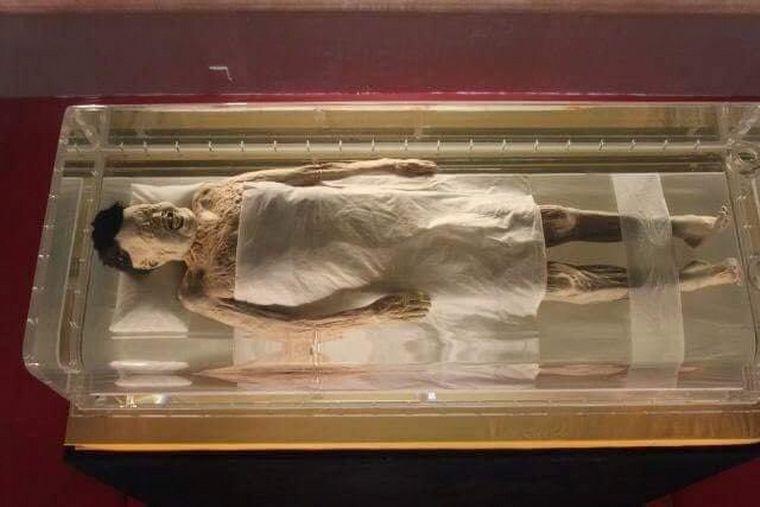 FOTO: La momia china de unos 2.000 años conserva sangre en sus venas y flexibilidad