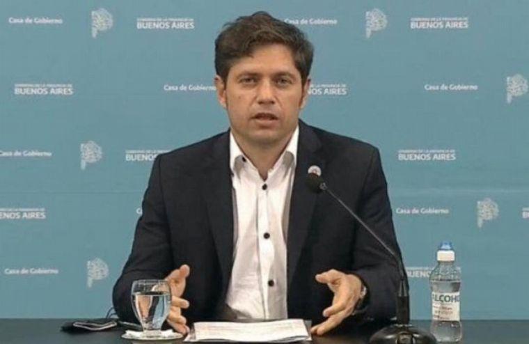 FOTO: Kicillof dijo que hay 15 distritos en los que podrían abrir las escuelas.