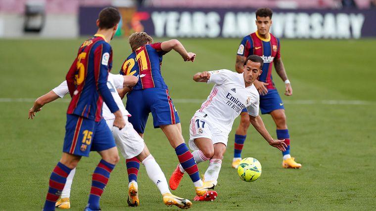 FOTO: Real Madrid se quedó con el clásico ante Barcelona