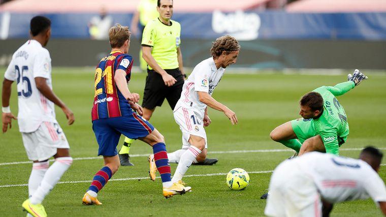 FOTO: Real Madrid venció a Barcelona en el clásico español