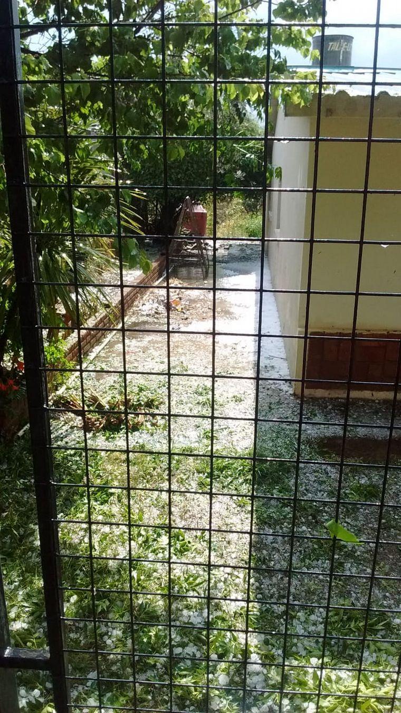 FOTO: Una fuerte tormenta sorprendió este sábado.