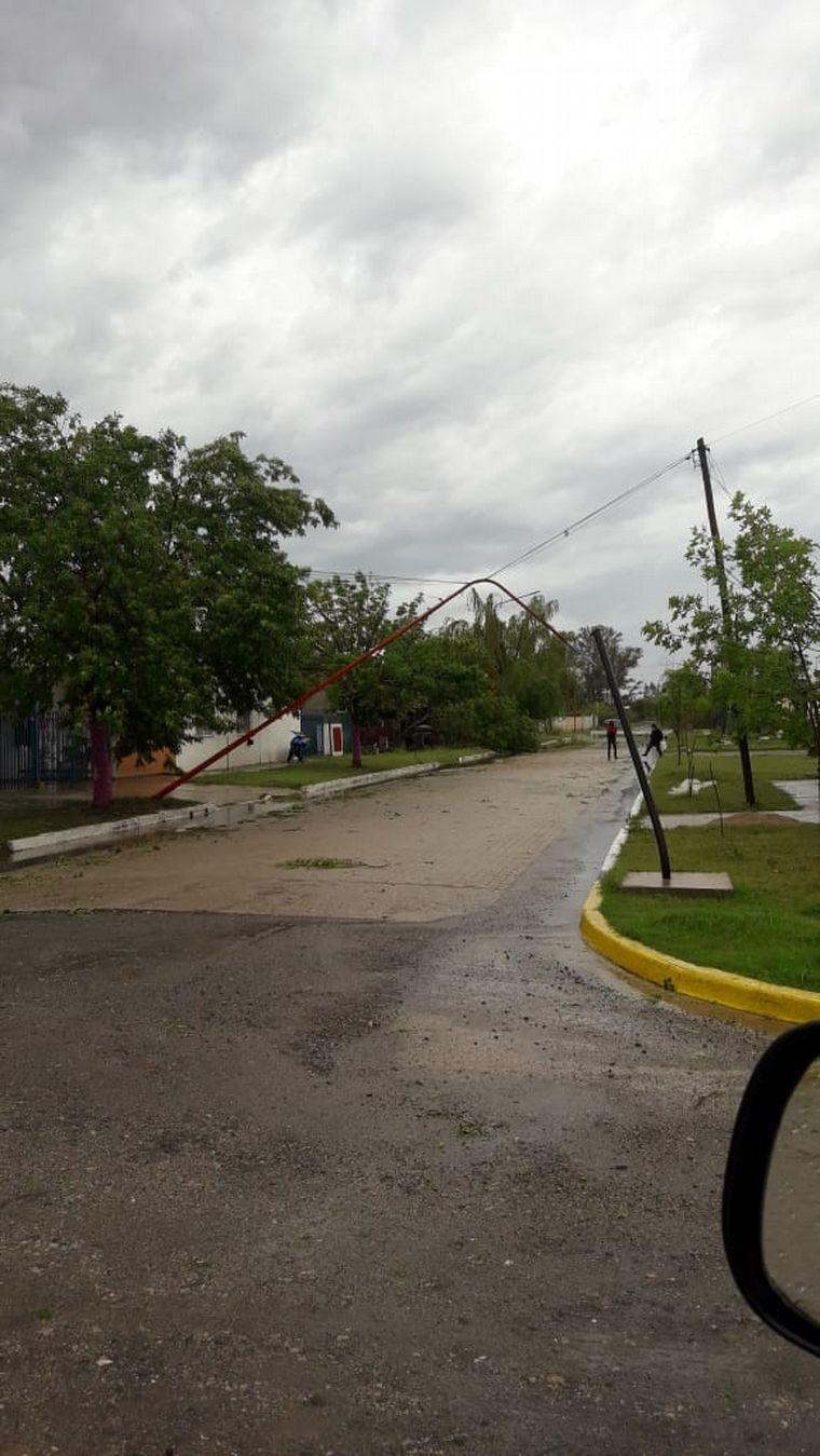 AUDIO: Temporal causa desastres en la localidad cordobesa de Cintra