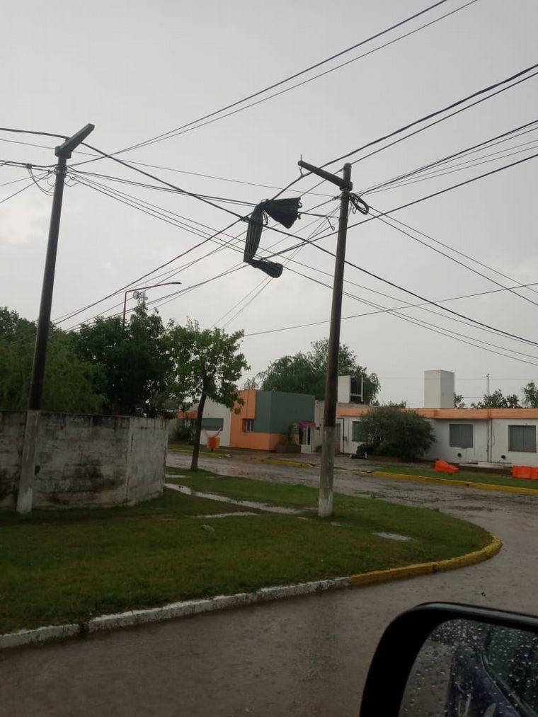 FOTO: Temporal en Cintra, Córdoba