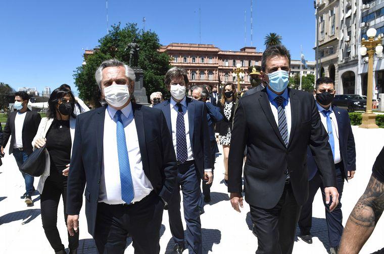 AUDIO: Fernández homenajeó a Néstor Kirchner: