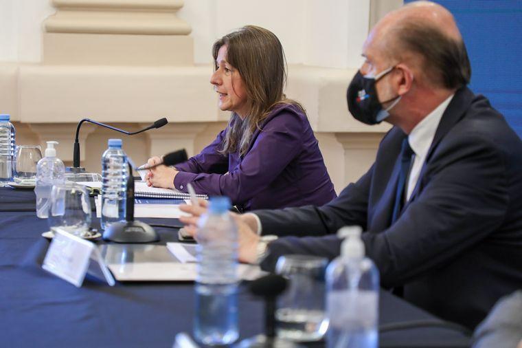 AUDIO: La ministra de Seguridad habló del conflicto Etchevere: