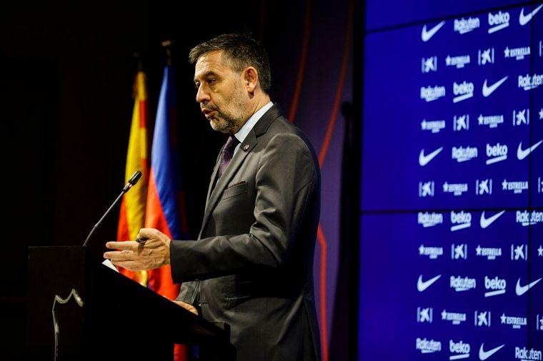 FOTO: Bartomeu, ahora ex presidente del Barcelona.
