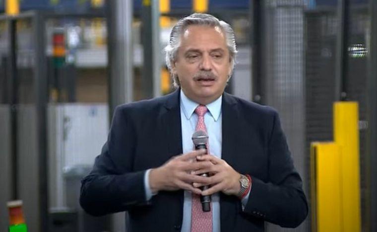 Alberto Fernández llamó a encarar juntos los problemas