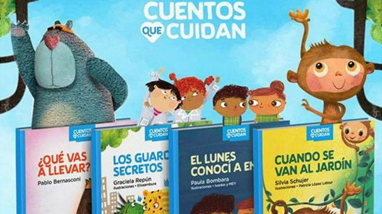 FOTO: Los cuentos son de autores e ilustradores argentinos.