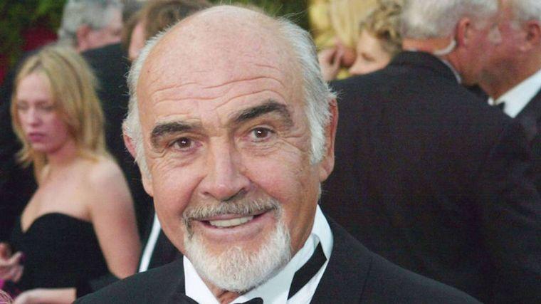 FOTO: Murió Sean Connery a los 90 años.