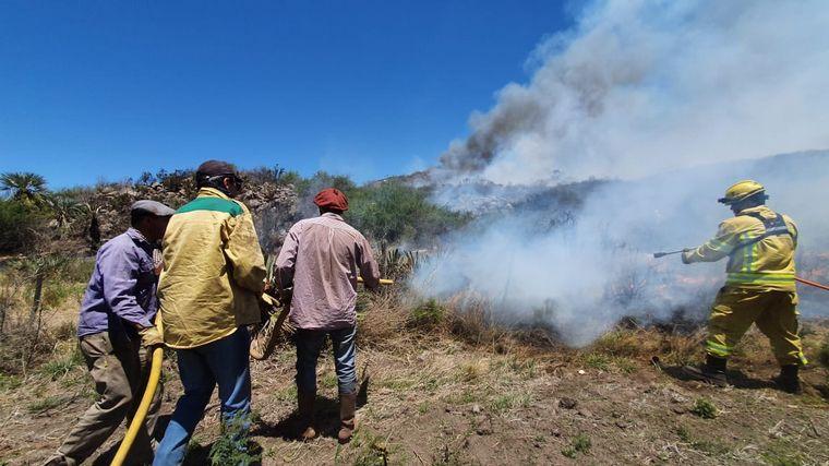 AUDIO: Córdoba: contienen gran parte del incendio cerca de San Pedro Norte