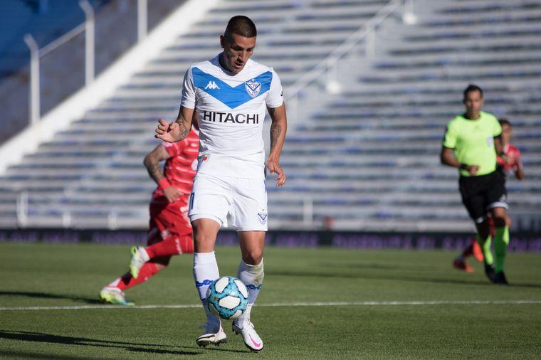 FOTO: Vélez fue más pero no pasó del empate 1-1 ante Huracán.