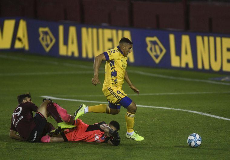 AUDIO: 2° gol de Boca a Lanús (Ábila)