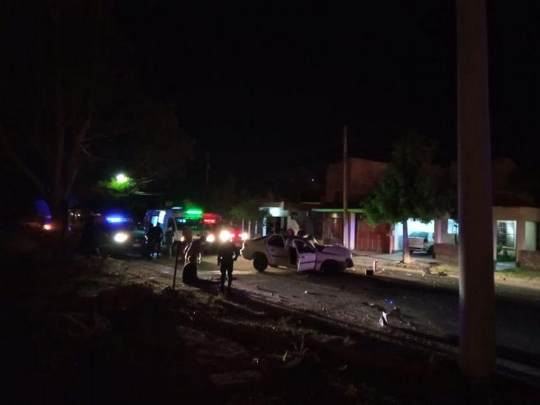 FOTO: Choque fatal en La Rioja: un muerto y dos heridos