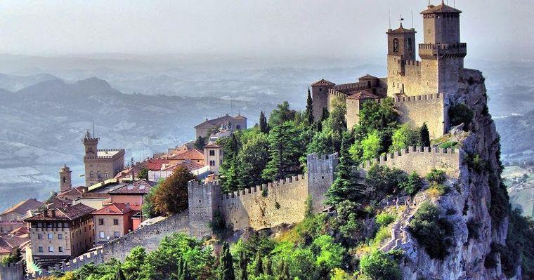 FOTO: San Marino, el país con mas muertes por millón de habitantes por coronavirus.