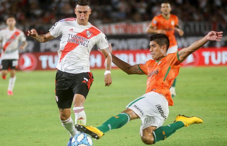 FOTO: Copa de Liga Profesional: River y Banfield cierran la primera fecha en Avellaneda