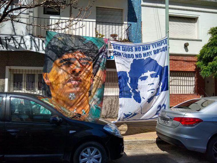 FOTO: La Clínica Olivos, en Capital Federal, el lugar donde intervendrán a Diego.