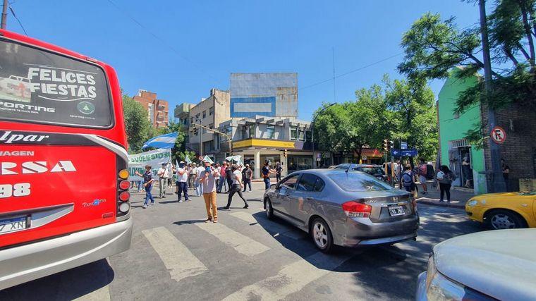 FOTO: Nuevas marchas del Suoem en el Centro de Córdoba.
