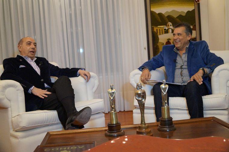 """FOTO: """"Me crié con la radio escuchando los Grandes Premios"""", le dijo Mario Pereyra a Raies."""