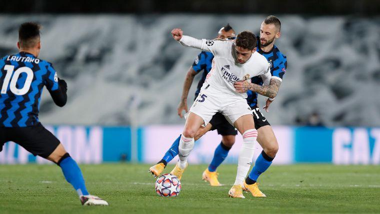 FOTO: El Real Madrid recibió al Inter de Lautaro Martínez por la Champions League
