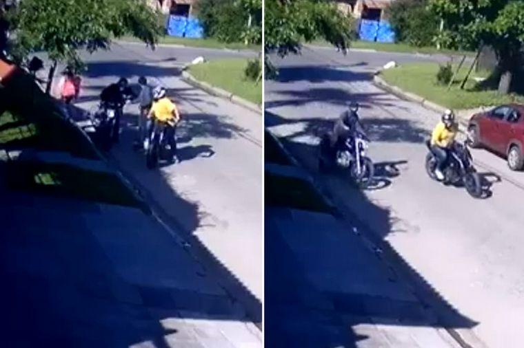 FOTO: Susana Giménez le regaló una moto a un repartidor