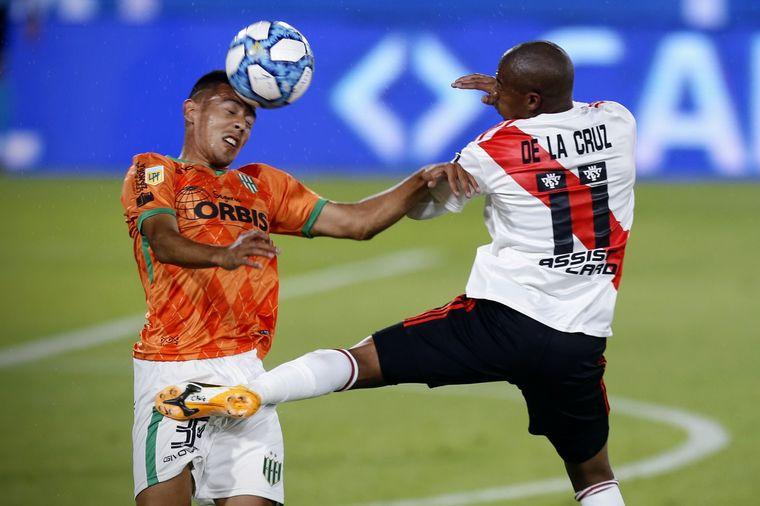 AUDIO: Gol de River (Rafael Santos Borré)