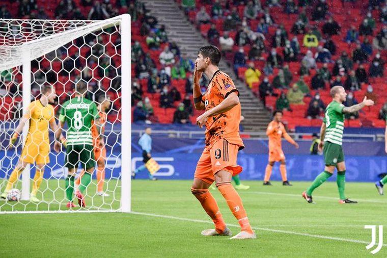 FOTO: Juventus fue mucho más fuerte que el Ferencváros húngaro en Champions.