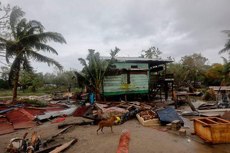 FOTO: Decenas de muertos dejó el paso del huracán Eta por Centroamérica (Foto: AFP).