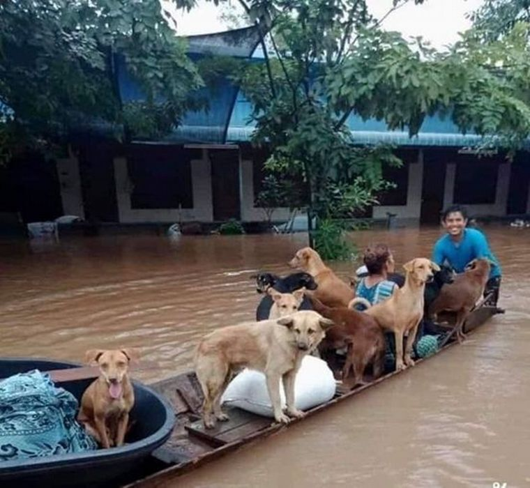 FOTO: Decenas de muertos dejó el paso del huracán Eta por Centroamérica (Foto: Twitter).