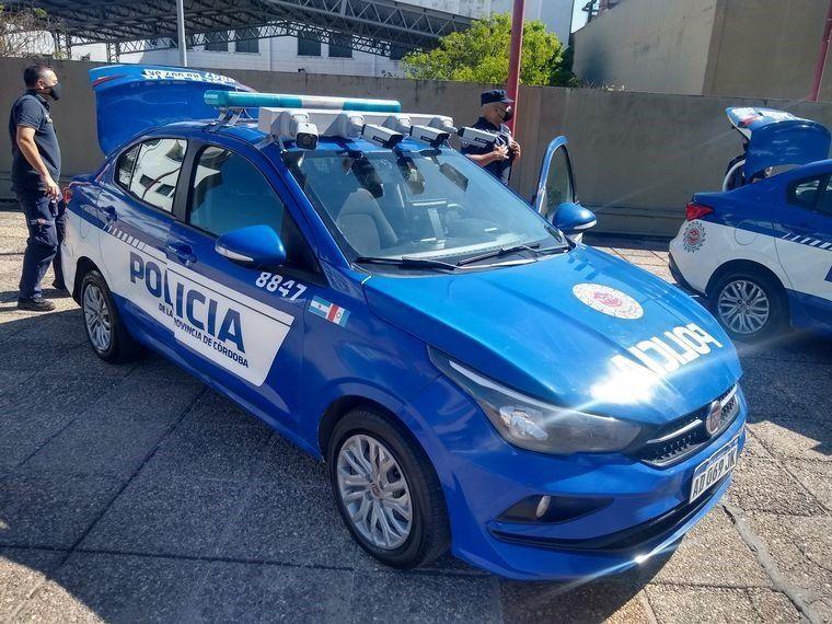 FOTO: Patrullero con lector de patentes detectó un auto con pedido de captura