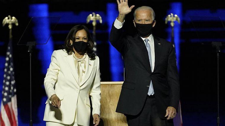 FOTO: Joe Biden brindó su primer discurso como presidente de EE.UU. (Foto: BBC)