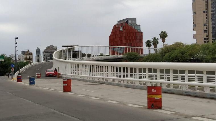 AUDIO: Habilitaron el puente que une Costanera y Cañada