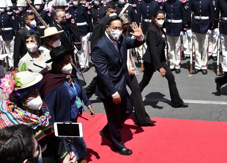 FOTO: Luis Arce asumió como presidente de Bolivia