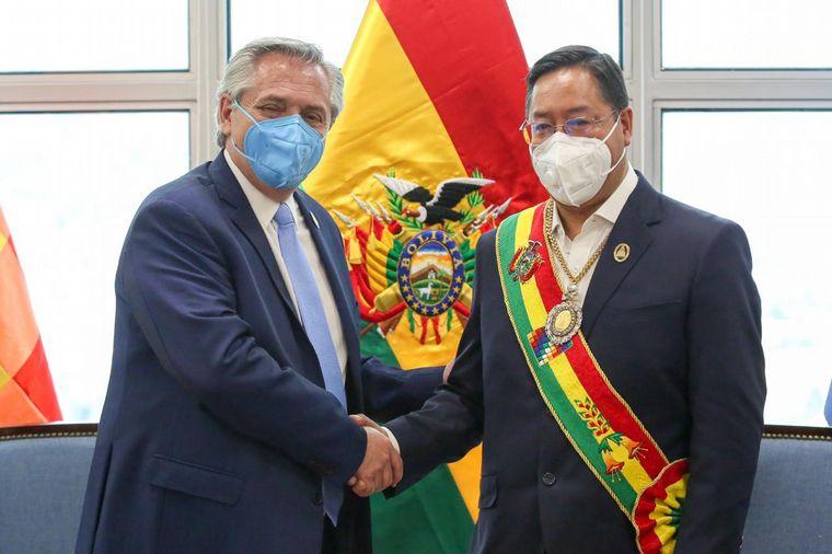 Alberto Fernández se reunió con Luis Arce en Bolivia - Noticias - Cadena 3  Argentina