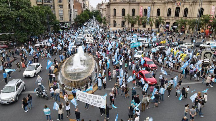 FOTO: Marcha 8N en Cordoba