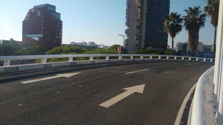 FOTO: Habilitaron el puente gobernador Ramón Mestre.