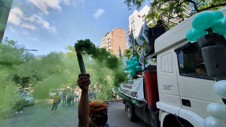 VIDEO: Otra jornada de protestas del Suoem en Córdoba.