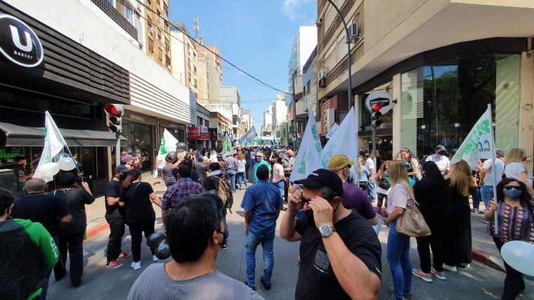 FOTO: El Suoem profundiza las medidas de fuerza contra Martín Llaryora.