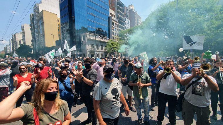 FOTO: Otra jornada protestas del Suoem en Córdoba.