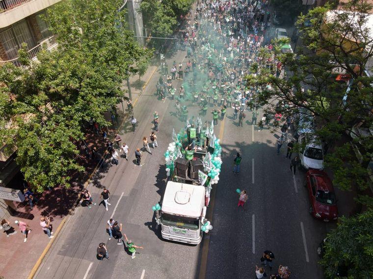 FOTO: Otra jornada de protestas del Suoem en Córdoba.