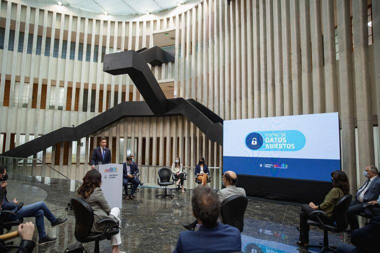 FOTO: Presentaron el nuevo portal de Datos Abiertos de la Legislatura de Córdoba