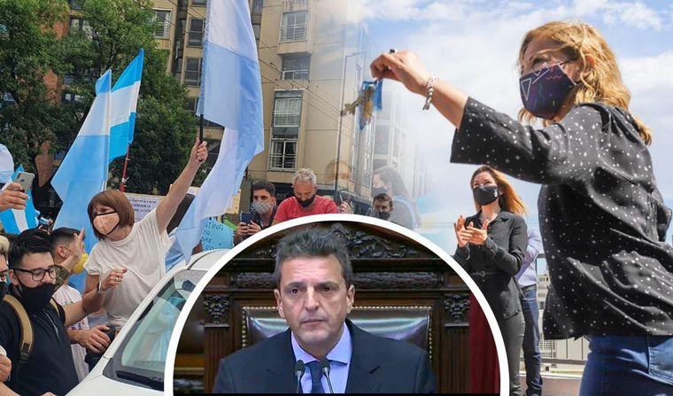 FOTO: Polémica por el viaje a Córdoba de Patricia Bullrich.