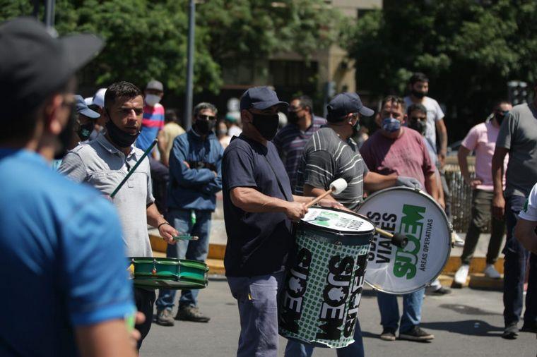 FOTO: Nueva jornada de protesta de los empleados municipales de Córdoba.