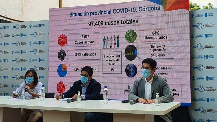 "AUDIO: Cardozo: ""Pretendemos vacunar a 2.200.000 personas en Córdoba"""