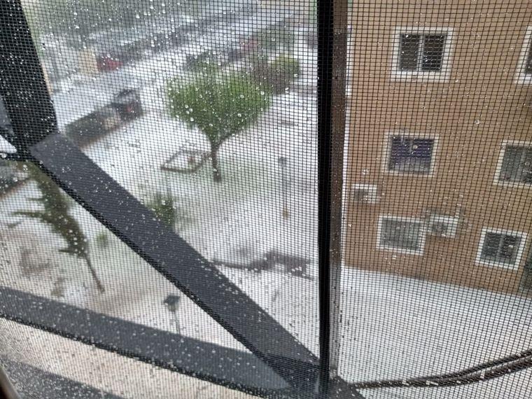 AUDIO: Fuertes tormentas y caída de granizo en Mendoza
