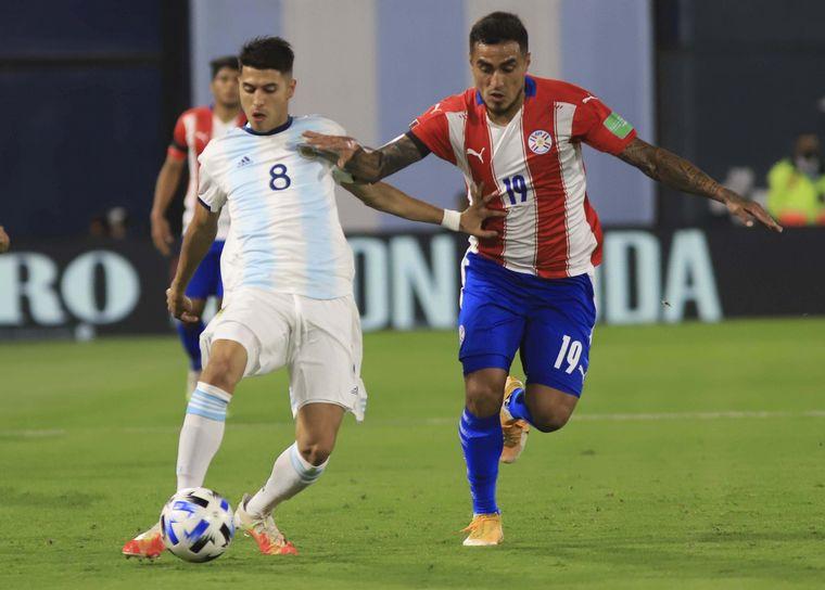 AUDIO: Gol de Paraguay (Ángel Romero)