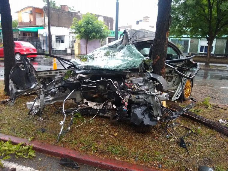 AUDIO: Tremendo accidente en avenida Fuerza Aérea de Córdoba