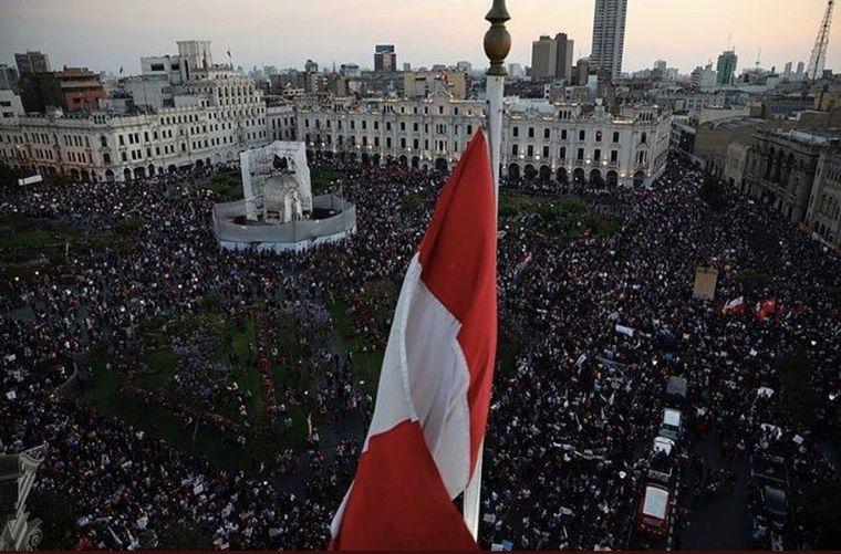 FOTO: Protestas en Perú