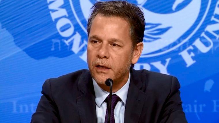 FOTO: Guzmán, Massa y Chodos fueron aislados tras el positivo de Cubeddu, del FMI.